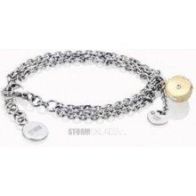 Storm dámský náramek 9980502G Tazer Bracelet Gold