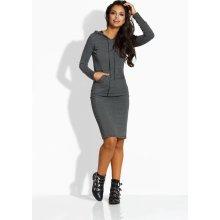 b0e235ab15c9 Lemoniade dámské šaty 108054 šedá