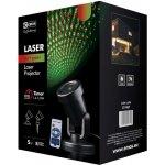 Laserový dekorativní projektor - zelená/červená, ovladač ZY1937