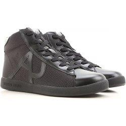 393159043eac ARMANI JEANS pánská kožená obuv kotníkové 2018 BLACK alternativy ...