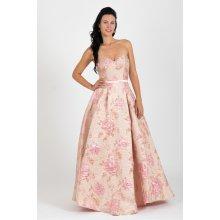 Plesové šaty růžová - Heureka.cz e38233f8ad