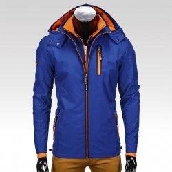 5d35616775f6 Pánská zimní bunda s odnímatelnou kapucí Heath modrá alternativy ...