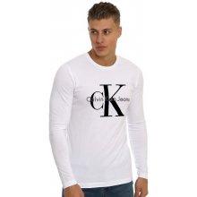 Calvin Klein Vintage s dlouhým rukávem bílé 0ff2657c3c