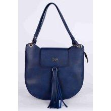 Ego luxusní menší kabelka tmavě modrá