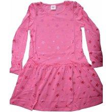 GLO - STORY dívčí šaty růžová 49af27f3d3