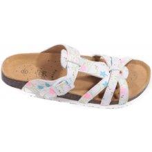 e406580b012b Dámské korkové pantofle Lucie bílé