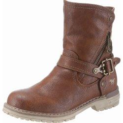 Dětská bota Mustang Shoes koňaková a49b2da06c