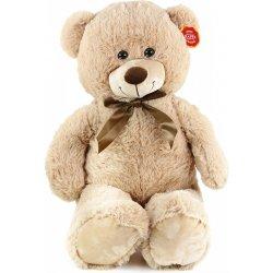 Rappa plyšový medvěd 80 cm světlý