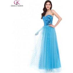 Grace Karin tylové společenské šaty CL3459-3 modrá alternativy ... fe249a3bd5