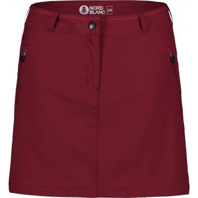 Nordblanc dámská sukně NBSSL7420 tmavě červená