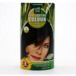 HennaPlus Dlouhotrvající barva na vlasy (Long Lasting Colour) (3 Tmavě hnědá)