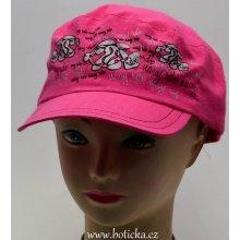 RDX Dívčí kšiltovka 7534 Piraňa růžová d7de05d07c