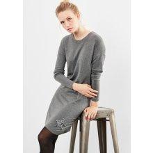 3ce2901dab3 Oliver dámské hladké úpletové šaty šedá