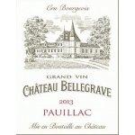 Bellegrave Cru Bourgeois / Pauillac červené 2013 0,7 l