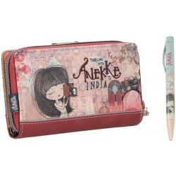 584705c48ee Anekke India střední peněženka na zip