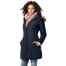 Boysens dámský péřový kabát s kapucí modrý