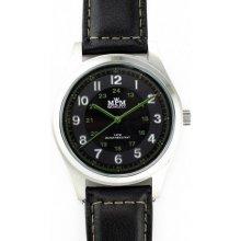 MPM W01M.10013.C černý ciferník / zelená čísla