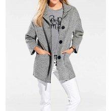 Heine BC vlněný kabát šedá