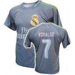 e6a7f9e96 Sp Fotbalový dres Real Madrid Cristiano Ronaldo šedý Vzhled dle obrázku