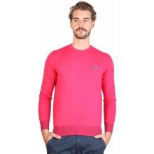 La Martina Pánské svetry DMS002XC01 růžový
