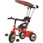 Baby Mix dětská tříkolka s vodící tyčí červená