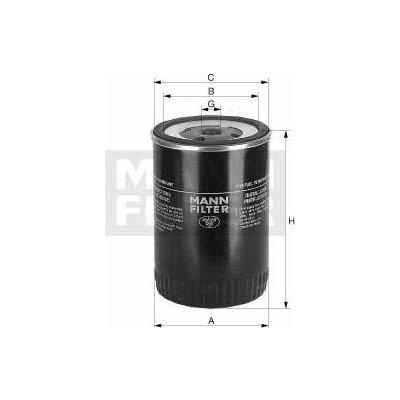 Filtr palivový MANN MF WK929 Miss Sixty 4011558970604