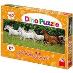 Dino Toys s.r.o. Běžící koně puzzle Panoramic 150 dílků