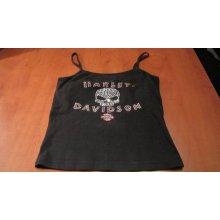 Harley Davidson Dámské tílko Skull rarita jednou