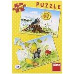 Dino puzzle Krtkův svět 2x48 dílků