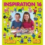 HAMA HAMA H399-16 Hama zažehlovací korálky Inspirativní knížka 16 MIDI