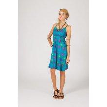 Etno letní krátké šaty Radana modrá cde4f14c3c