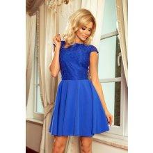2f78e7981cd Numoco dámské večerní šaty 114334 modrá