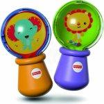 Fisher Price Baby Rumba koule set 1 pár chrastítko se zvířátky