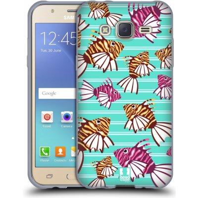 Pouzdro HEAD CASE Samsung Galaxy J5, J500, (J5 DUOS) vzor mořský živočich ryba