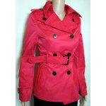 Paris Elegantní dámský kabát červený