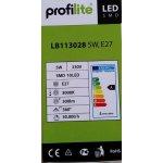 Profilite LED žárovka SMD10 LED,230V,5W PL-LB113028