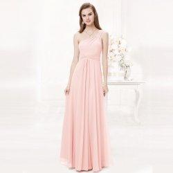 Dlouhé šaty na ples na svatbu do tanečních růžová 68ad6d06cd