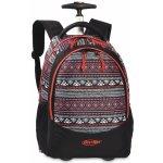 BestWay batoh na kolečkách 40028-0145 černá/multicolor