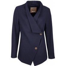 Dreimaster dámský kabát s příměsí vlny 39036841 marine