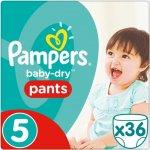 Pampers pants 5 Junior 12-18 kg 36 ks
