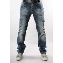 M. SARA kalhoty pánské 8035 kapsáče jeans džíny