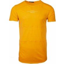 Pánské tričko s potiskem Freedom oranžové