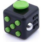 Fidget Cube antistresová kostka černý zelený