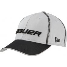 Bauer New Era 39Thirty Pre-Game cap kšiltovka White