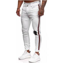 8f798e9d263 pánské roztrhané džíny Stripe skinny fit RJ-5146