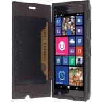 Pouzdro Krusell MALMÖ FLIPCASE STAND Nokia Lumia 730/735 černé