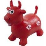 Sun Baby skákací zvířátko býček červená