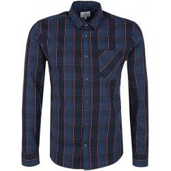 s.Oliver Pánská modrá kostkovaná košile extra Slim Fit od 599 Kč ... 348c352ad6