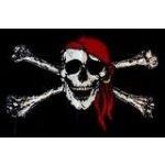 Pirátská vlajka malá
