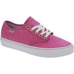 d81882328b4 Dámská obuv Vans tenisky WM Camden Stripe Linen Beetroot VA32QKMZ3